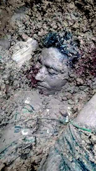 BGP killed and secretly buried near Kyaukpyinseik (Nari Bil) village